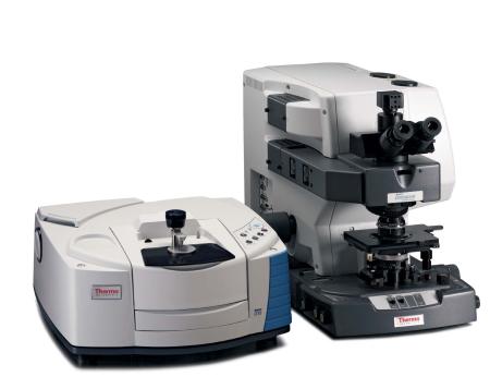 Nicolet iS10 s Nicolet Continuum mikroskopom