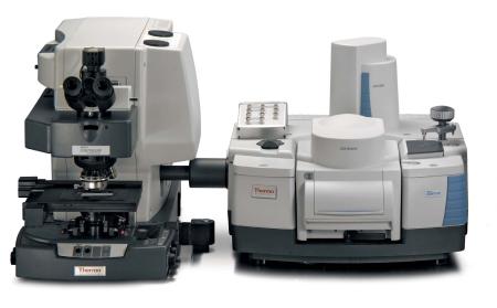 Nicolet iS50 s Nicolet Contiuum mikroskopom